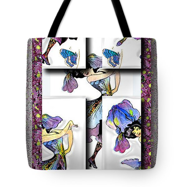 May Day Dancer Tote Bag