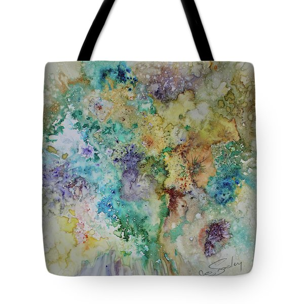 Tote Bag featuring the painting May Flowers by Joanne Smoley