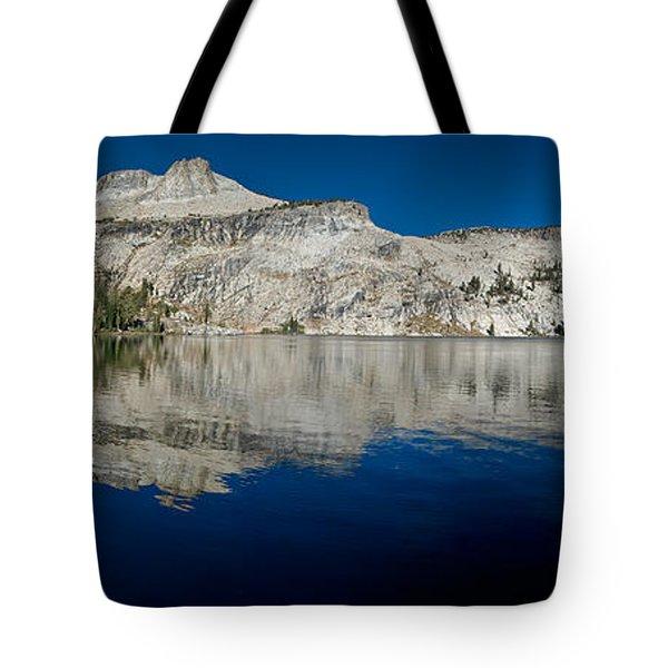 May Lake Panorama Tote Bag