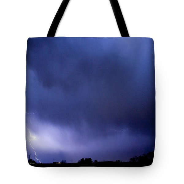 May Showers 3 In Color - Lightning Thunderstorm 5-10-2011 Boulde Tote Bag by James BO  Insogna