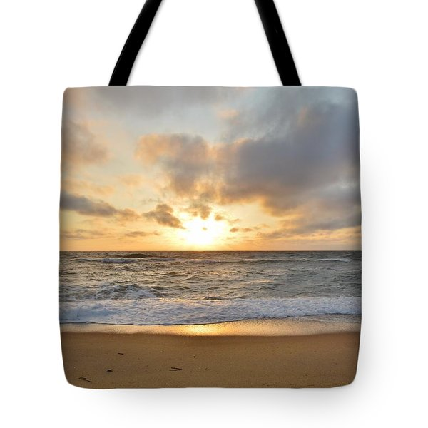 May Sunrise In Obx Tote Bag