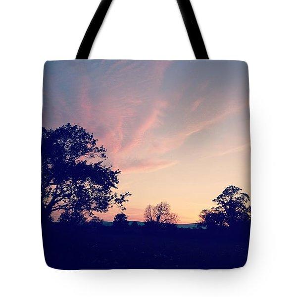 May Sunrise, Lancashire, England Tote Bag