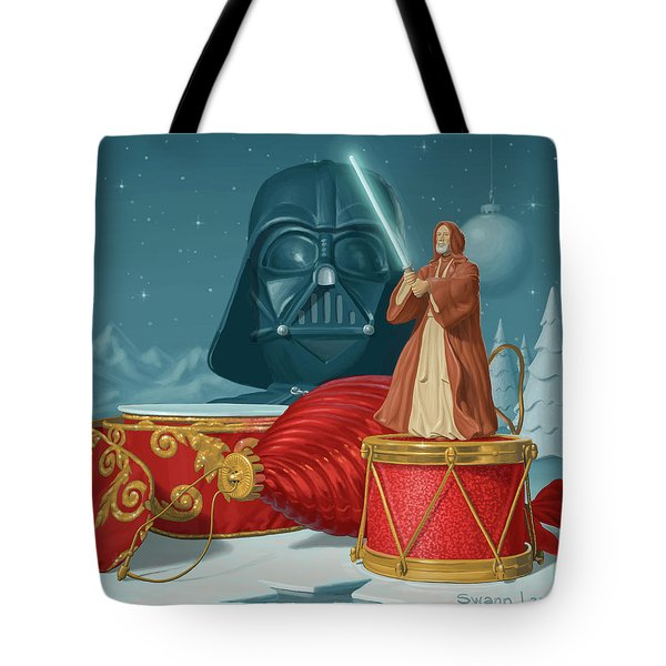 May The Holidays Be With You Tote Bag