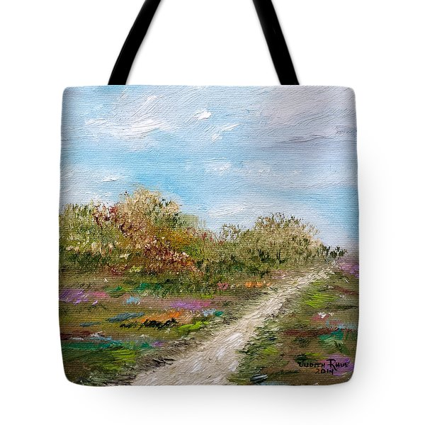 May The Road Rise Up To Meet You Tote Bag