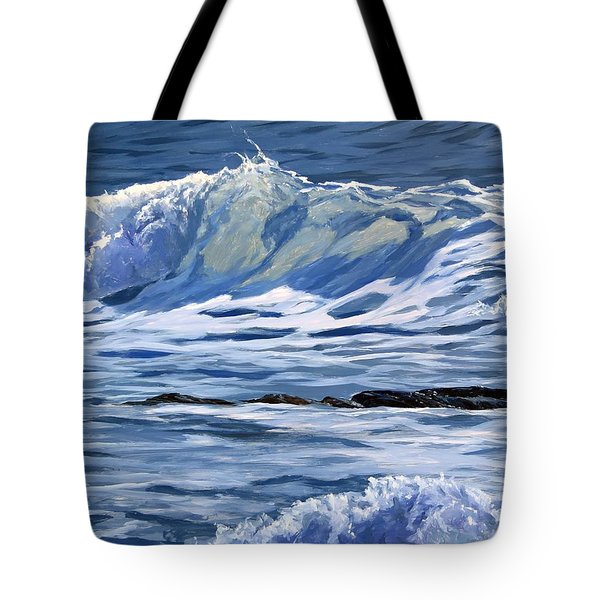 May Wave Tote Bag