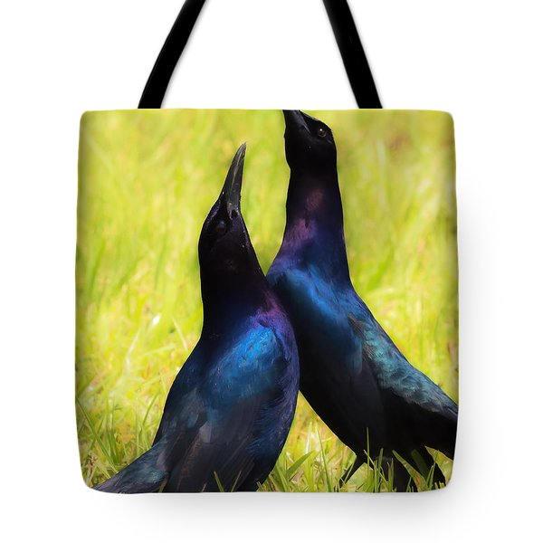 May We Dance Tote Bag by Kelly Marquardt