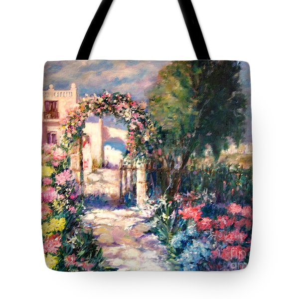 May Your Life Be Like A Flower Tote Bag