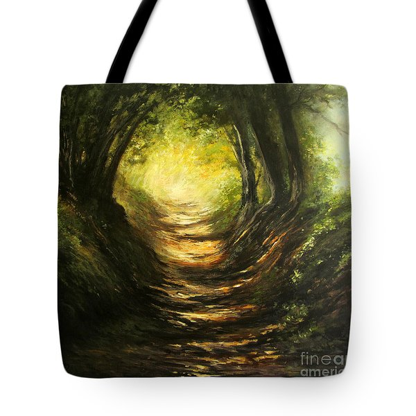 May Your Light Always Shine Tote Bag by Valerie Travers