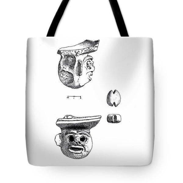 Maya Ceramic Head Tote Bag