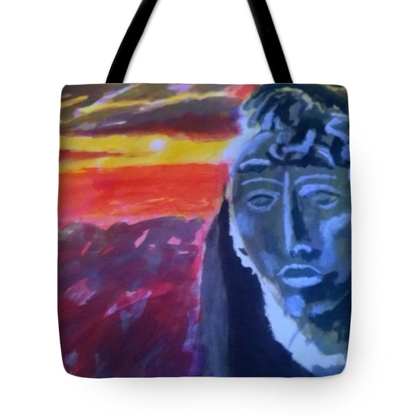 Maya Sunset Tote Bag
