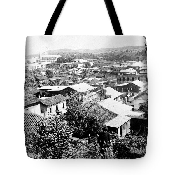 Mayaguez - Puerto Rico - C 1900 Tote Bag by International  Images