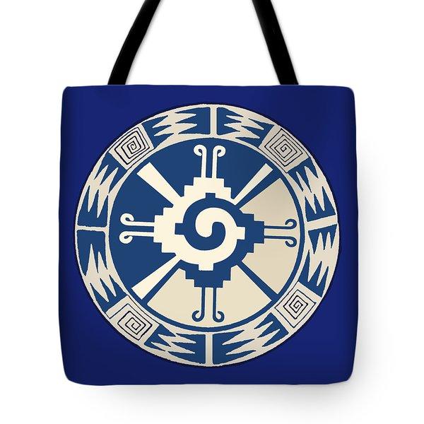 Mayan Hunab Ku Design Tote Bag