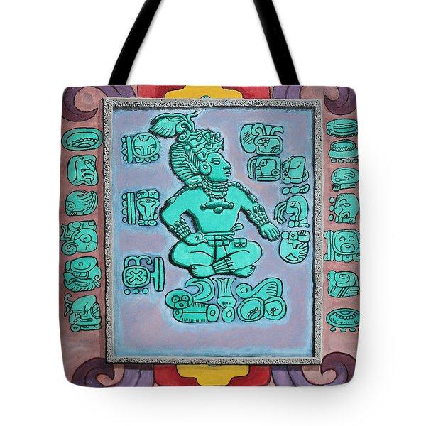 Mayan Prince Tote Bag
