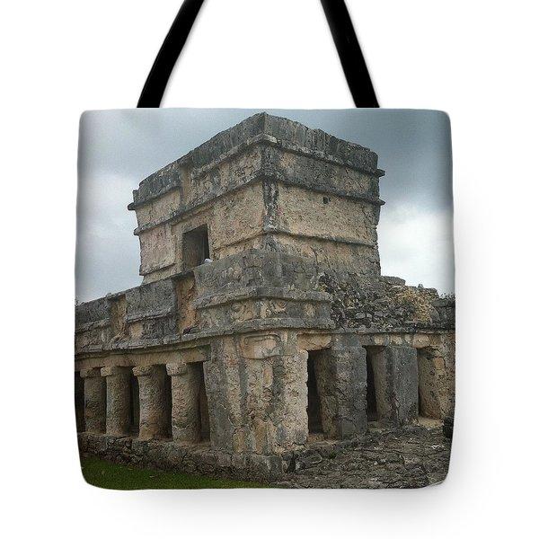 Mayan Stone Homes  Tote Bag