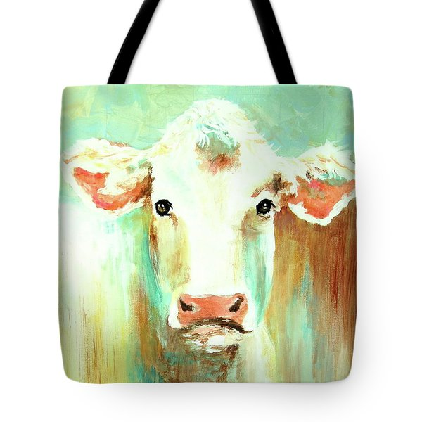 Maybell The Cow Tote Bag