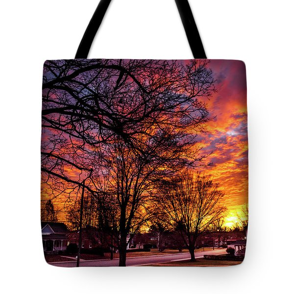 Mayberry Sunrise Tote Bag