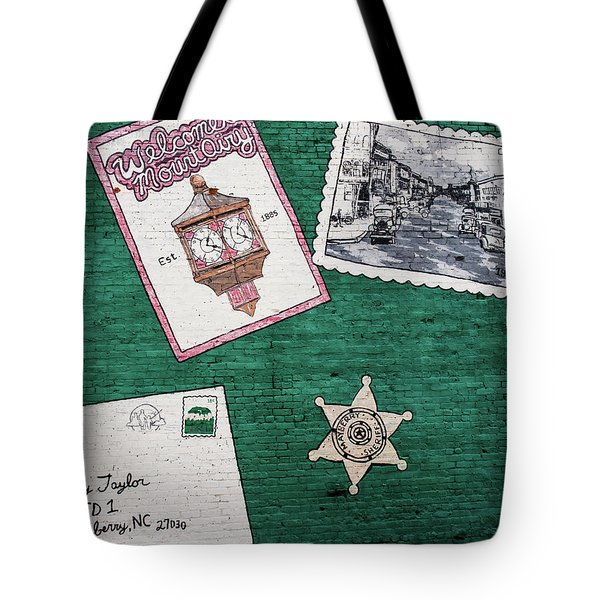 Mayberry Wall Tote Bag