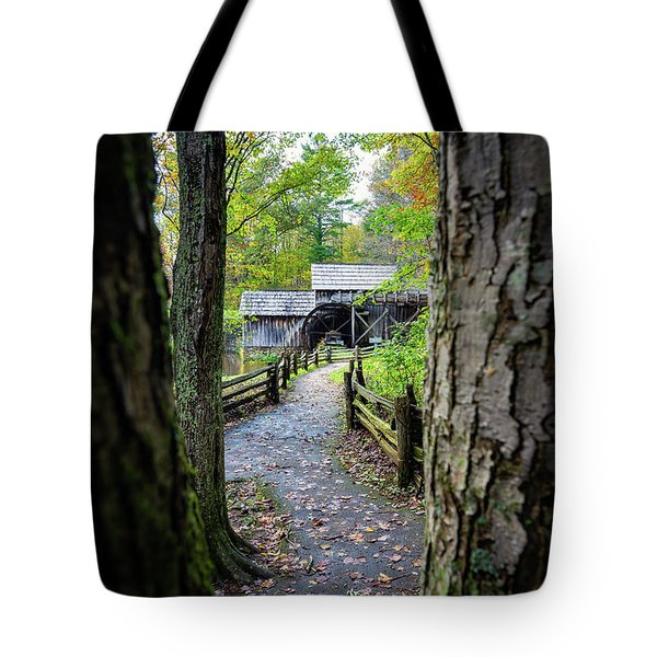 Maybry Mill Through The Trees Tote Bag