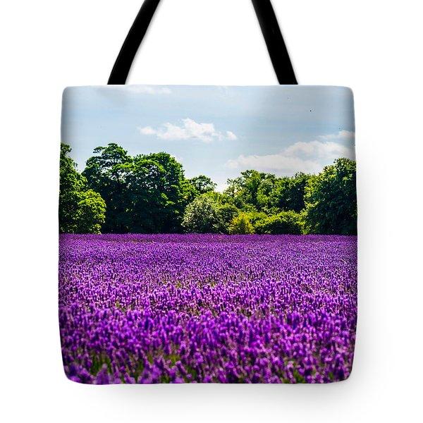 Mayfield Lavender Tote Bag