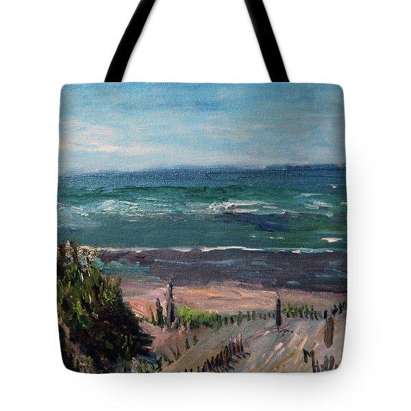 Mayflower Beach Tote Bag