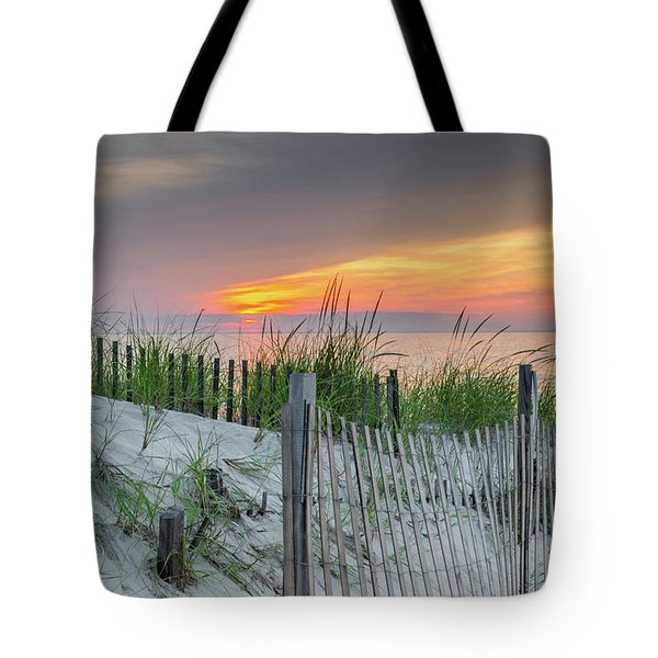 Tote Bag featuring the photograph Mayflower Beach by Mike Ste Marie