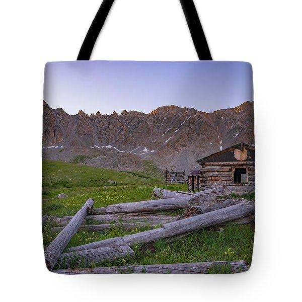 Mayflower Homestead Tote Bag