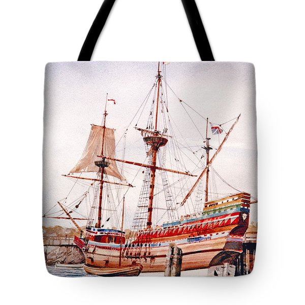 Mayflower II  Tote Bag