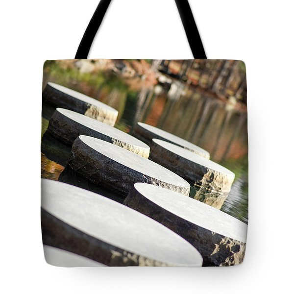 Maymont Stepping Stones Tote Bag