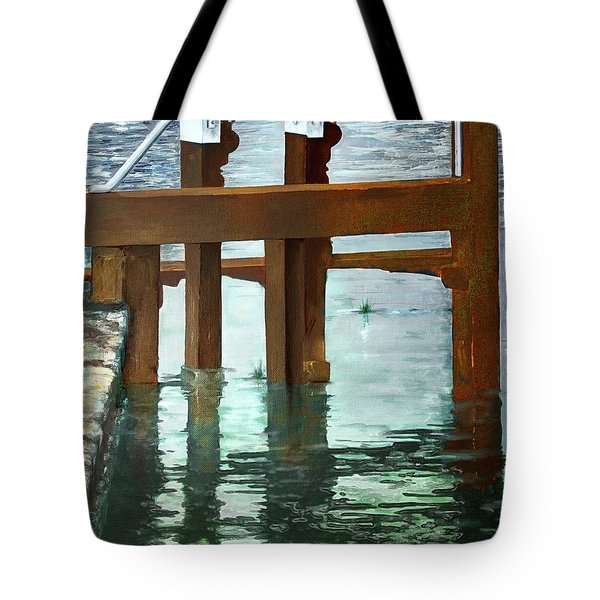 Maynooth Lock Tote Bag by Marty Garland