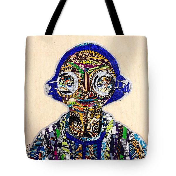 Maz Kanata Star Wars Awakens Afrofuturist Colection Tote Bag