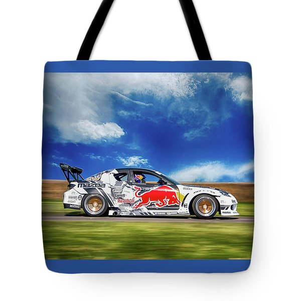 Mazda Rx7 Drift Tote Bag