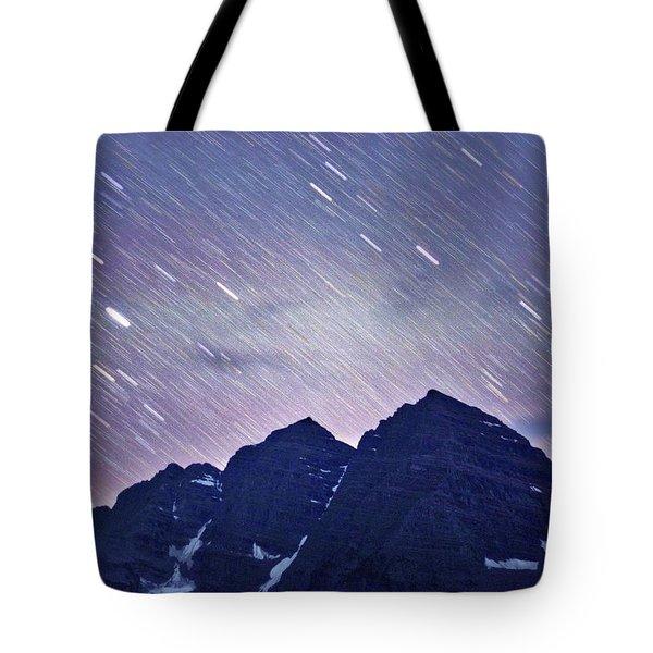 Mb Star Showers Tote Bag by Matt Helm