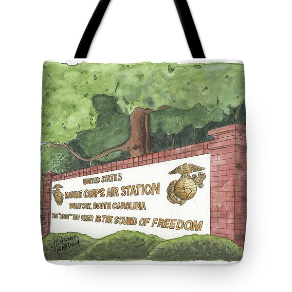 Mcas Beaufort Welcome Tote Bag