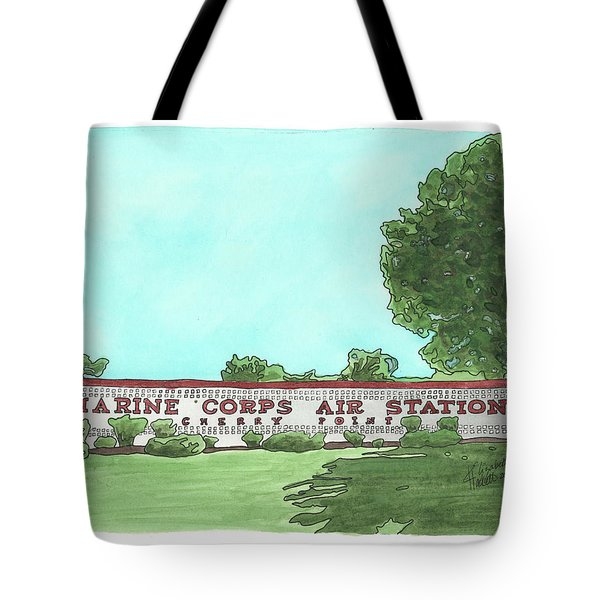 Mcas Cherry Point Welcome Tote Bag
