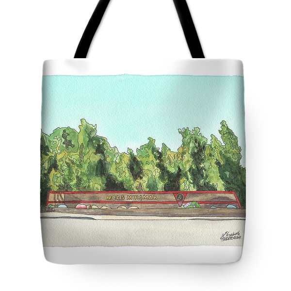 Mcas Miramar Welcome Tote Bag