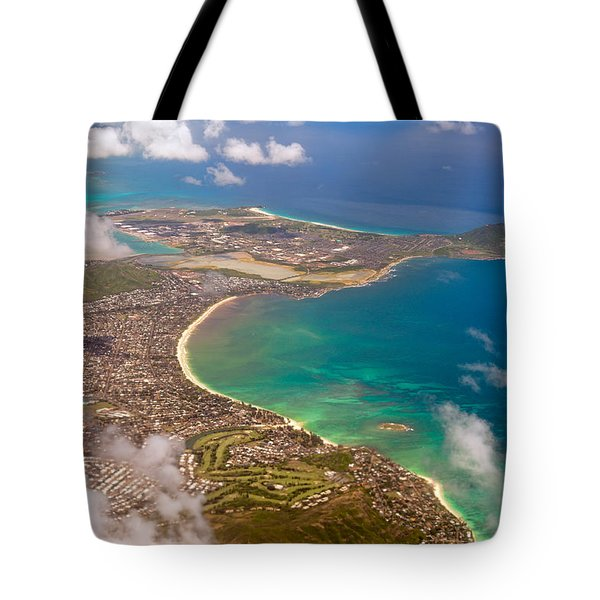 Tote Bag featuring the photograph Mcbh Aerial View by Dan McManus