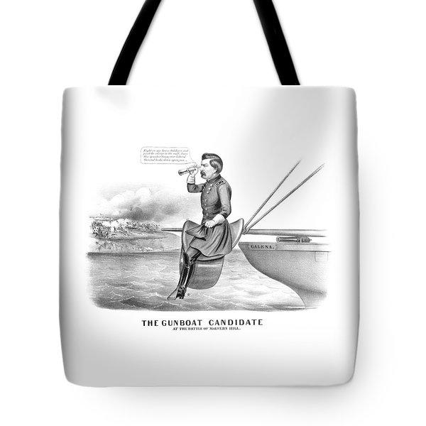Mcclellan The Gunboat Candidate Tote Bag