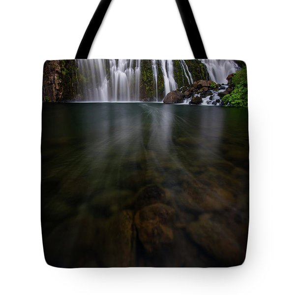 Tote Bag featuring the photograph Mccloud Falls by Dustin LeFevre