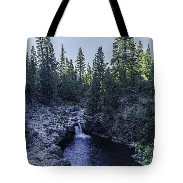 Mccloud Lower Falls Tote Bag