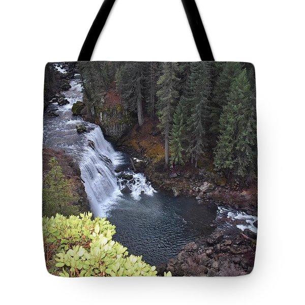 Mccloud River Falls Tote Bag