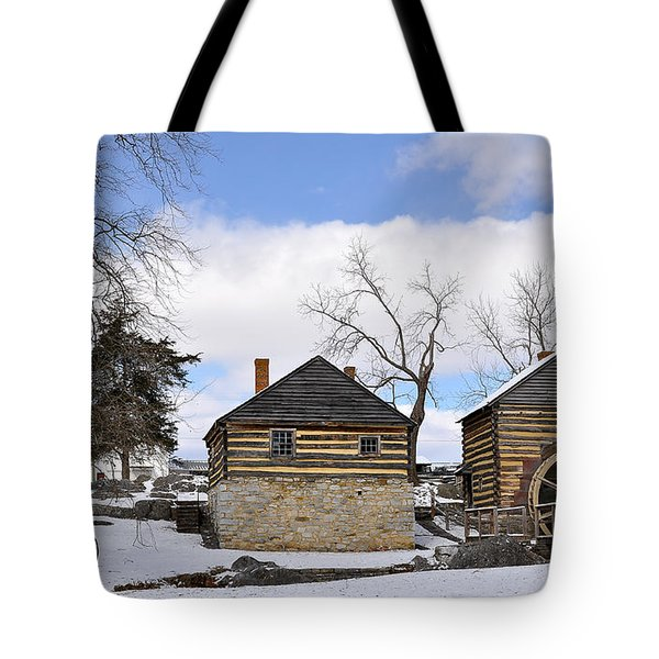 Mccormick Farm 1 Tote Bag by Todd Hostetter