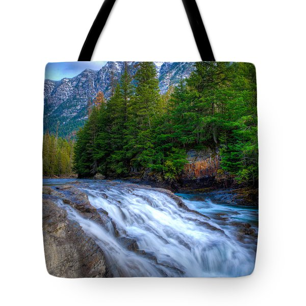 Mcdonald Creek Tote Bag