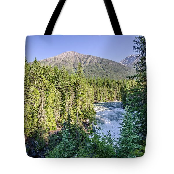 Mcdonald Falls Tote Bag