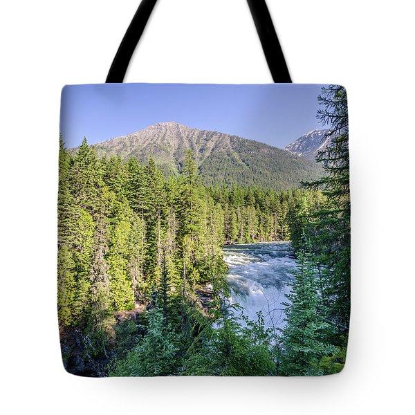 Mcdonald Falls Tote Bag