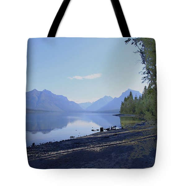 Mcdonald Lake Tote Bag