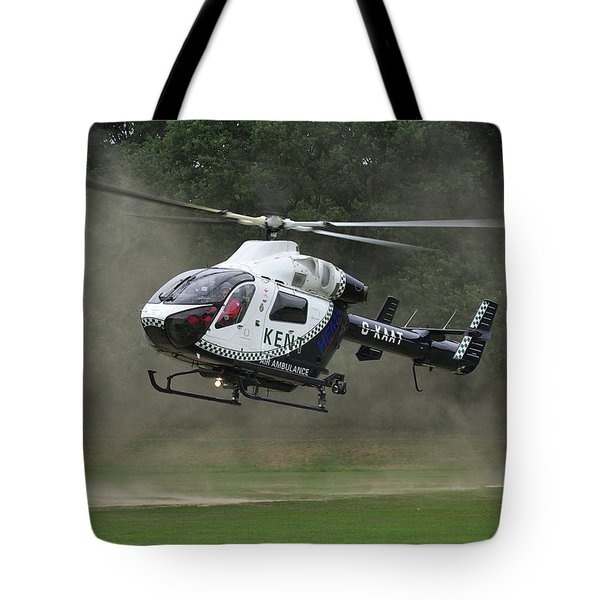 Tote Bag featuring the photograph Mcdonnell Douglas Md-902 Explorer  by Tim Beach
