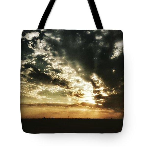 Mcfarland Sunset Tote Bag