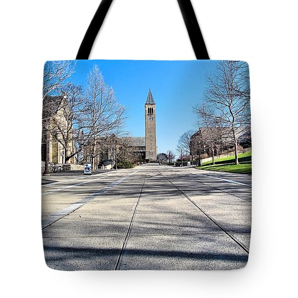 Mcgraw Tower  Tote Bag