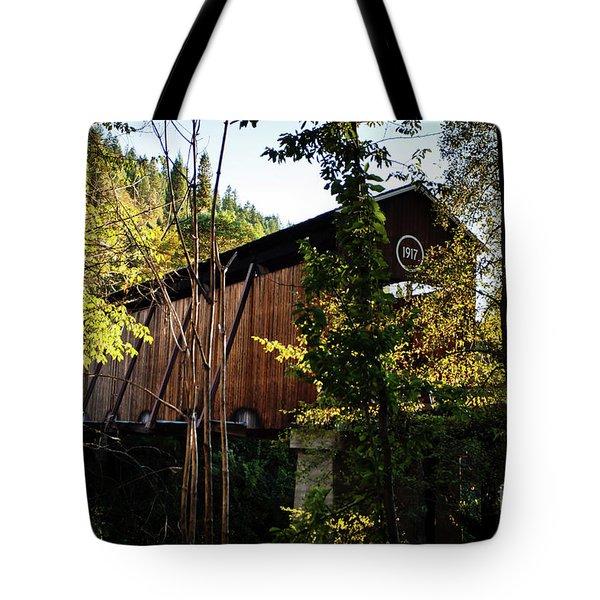 Mckee Bridge Tote Bag