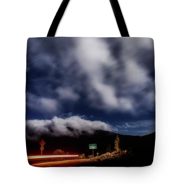 Tote Bag featuring the photograph Mckenzie Pass by Cat Connor